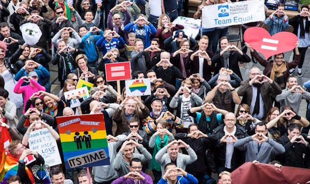 Thousands Rally In Sydney For Marriage Equality