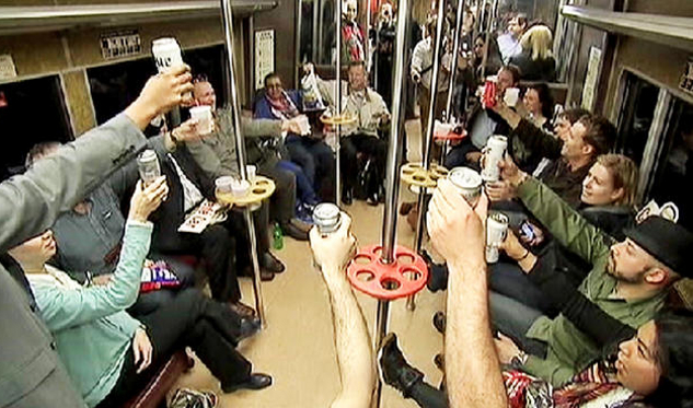 End of the Line for Boozin' on NYC Commuter Rail