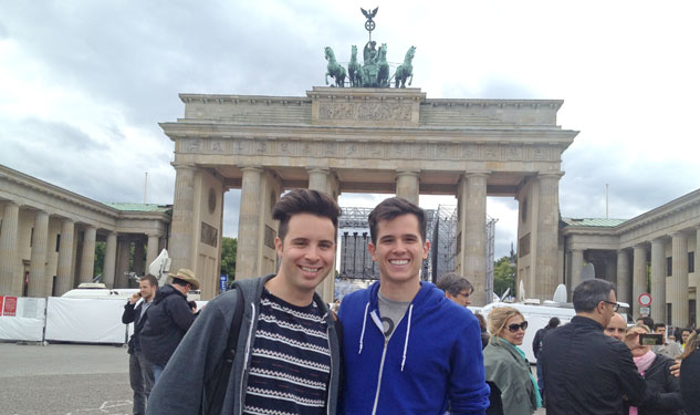 Gay Europe Ambassadors Find Berlin's Heart and Soul