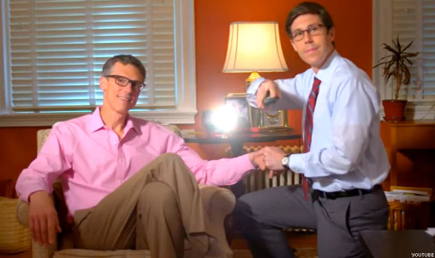 WATCH: Gay Pol Features Husband in Charming Campaign Ad