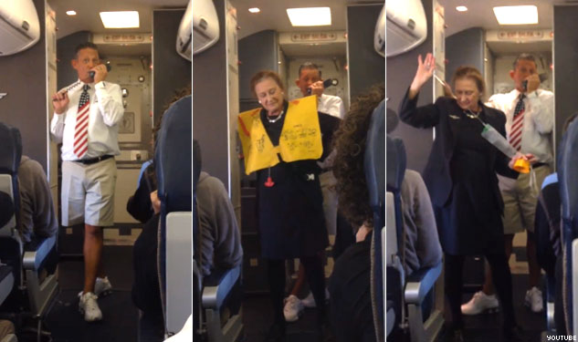 VIDEO: The Funniest Flight Attendant Ever (At Least at Southwest)
