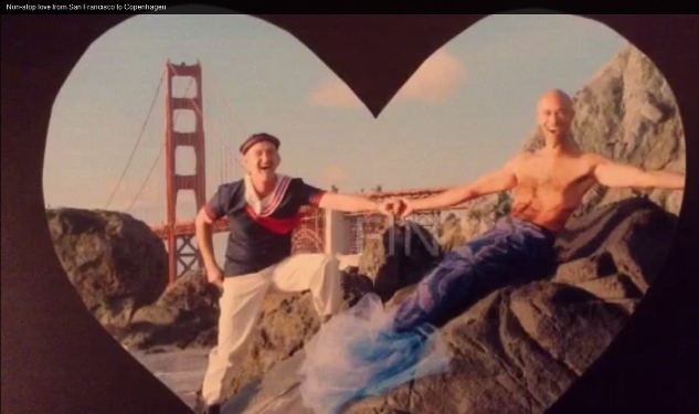 VIDEO: S.F. Guys Validate Their Love All the Way to Denmark