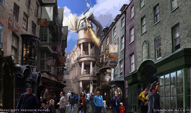 Check Out the New Harry Potter Attraction at Universal Orlando