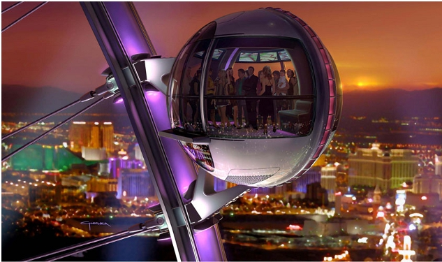 VIDEO: Vegas' LINQ Project and World's Largest Ferris Wheel