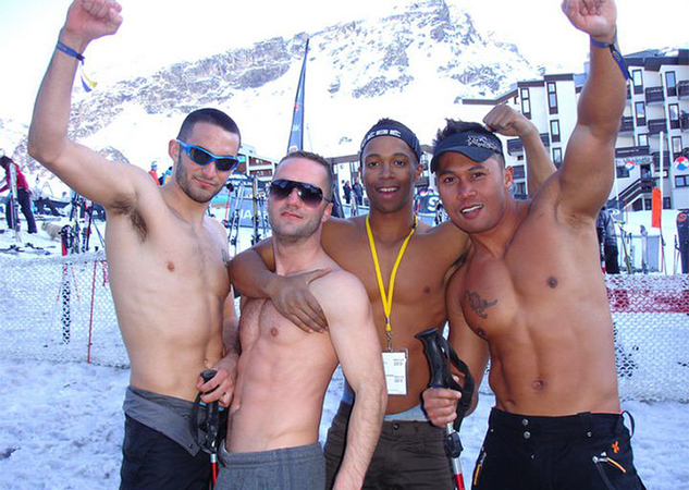 from Toby gay ski week in aspen