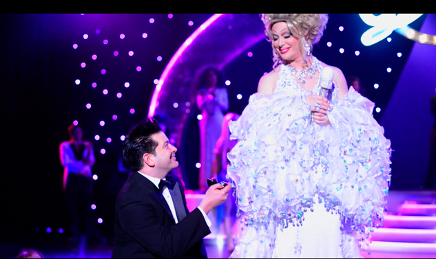 Live Proposal for Vegas Drag Superstar Frank Marino
