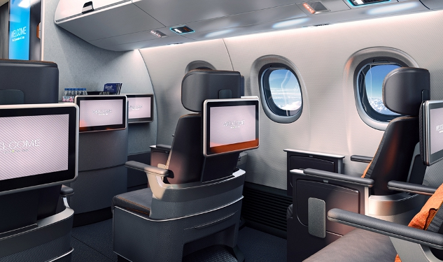 New Plane Makes Room For Your Carry-Ons and iPads