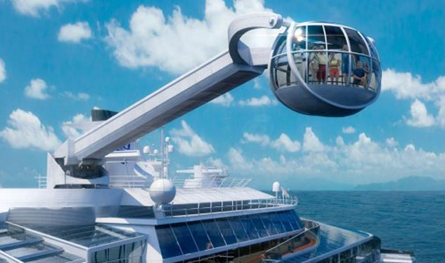 Royal Caribbean's Newest Space-Age Attraction