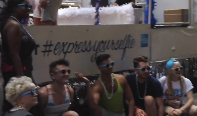 VIDEO: Amex, Out's #ExpressYourSelfie Takes Over NY Pride