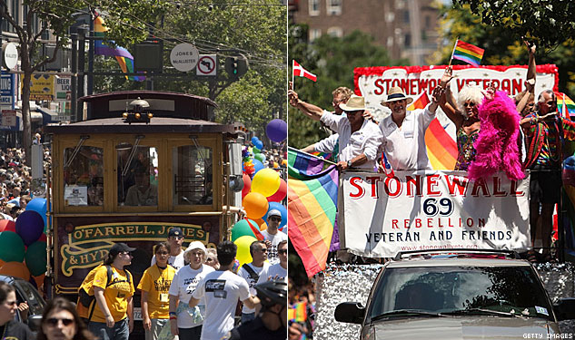 Which Pride Will Be Better: SF or NY?