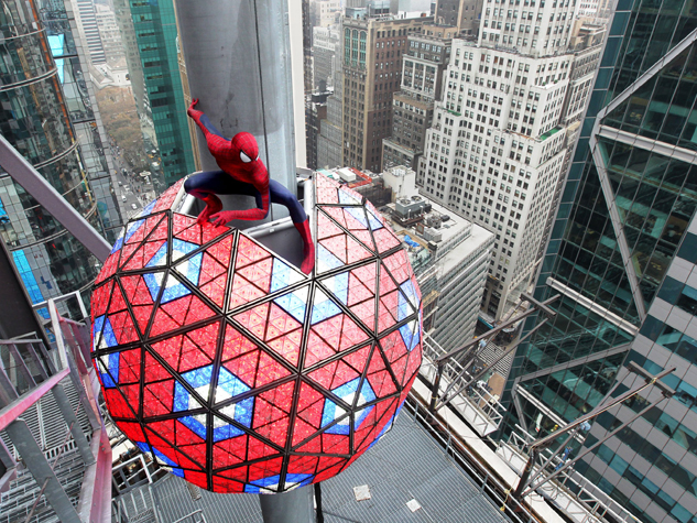 Spider-Man Will Welcome In 2014 In Times Square
