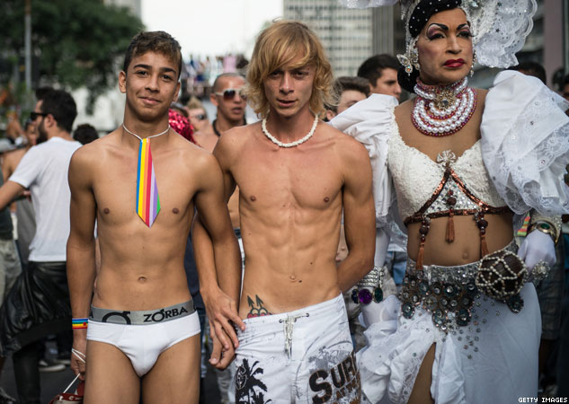 Six Photos to Get You Excited for Sao Paulo Pride