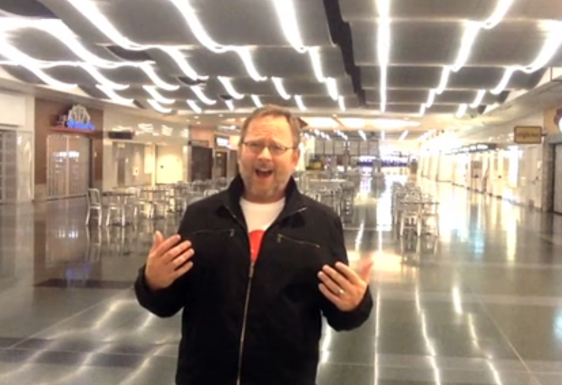 WATCH: Celine Dion, A Bored Guy, and the Vegas Airport