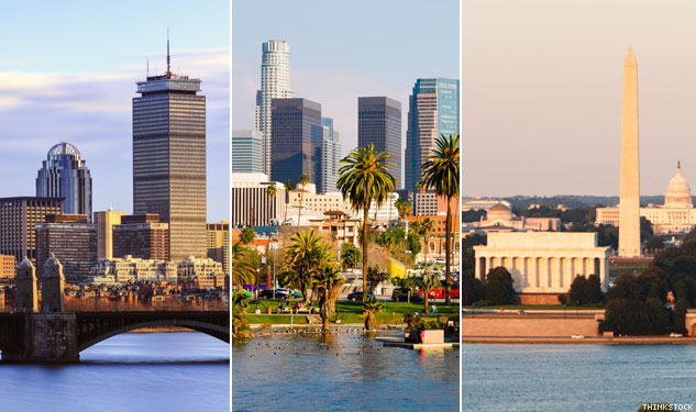 Which Pride is Best: Boston, L.A. or D.C.?