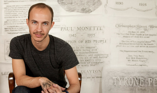 PHOTOS: In 'The Gay Rub,' Artist Shows Imprints of LGBT History