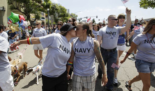 Gay Troops May Be Allowed to Travel to States With Marriage Rights