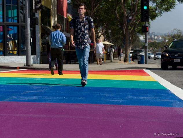 Another Person Hit in WeHo Crosswalk: Fourth Since June
