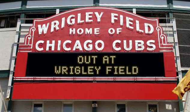 "Chicago Cubs Sets ""Out at Wrigley Field"" Day"
