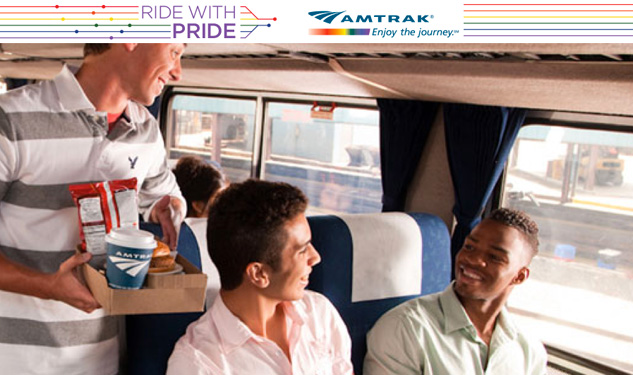 Amtrak Increasing Outreach to LGBT Riders