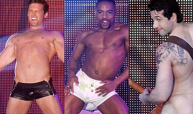 PHOTOS: Mother's Day Strip Show Raised Cash to Fight HIV