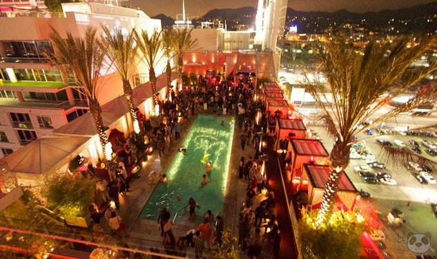 Ever Been to a Gay Nightswim On Top of a Hollywood Hotel?
