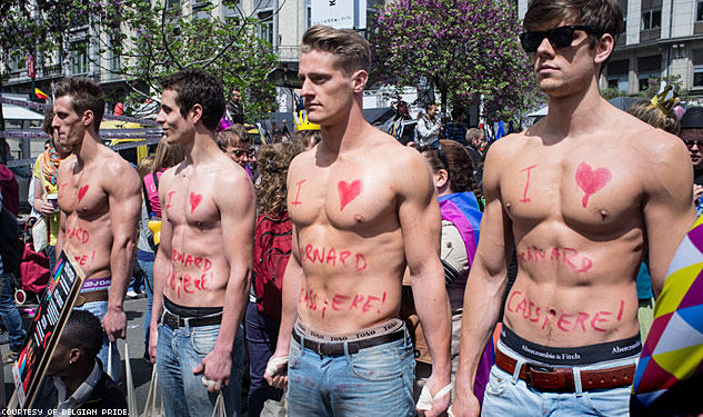 PHOTOS: The Eclectic Pride of Brussels