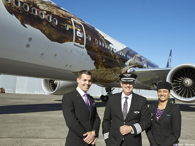 There's a Dragon on that Air New Zealand Plane!