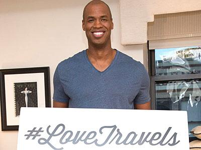Love Travels, With Help From Jason Collins and His BF