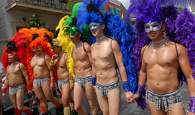 PHOTOS: How NOLA's Biggest Gay Event Got So Decadent