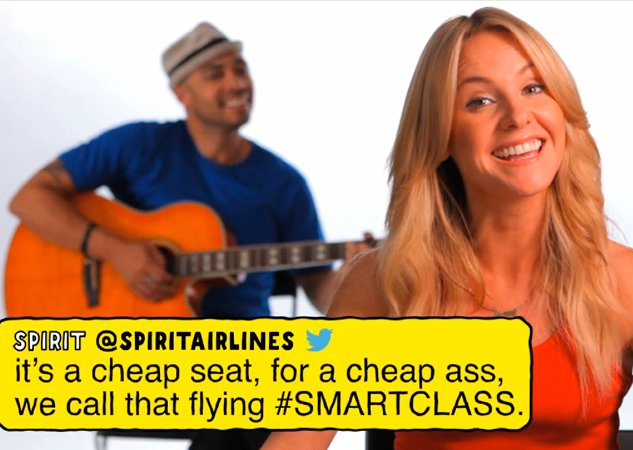 VIDEO: Hate on Cheapo Spirit Airlines for Free Miles