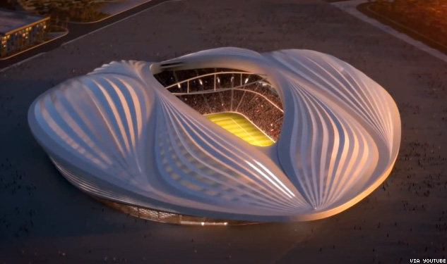 Qatar to Erect Giant Vagina for World Cup 2022