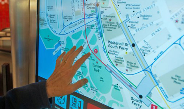 NYC Welcomes Touchscreen Subway Maps