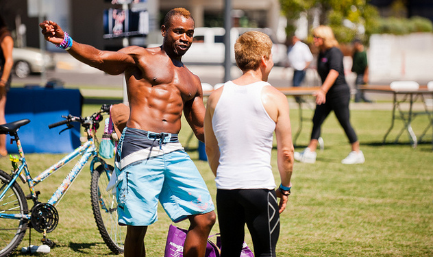 PICTURES: West Hollywood's 'Buff N Cut' Fitness Event