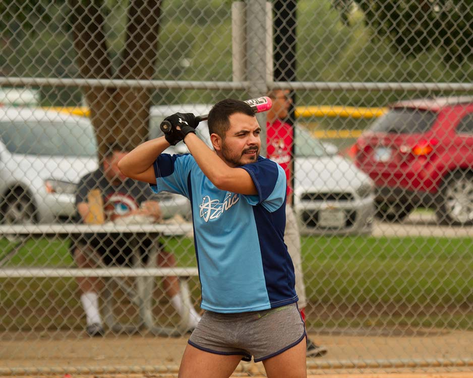 Gay softball player has post-tournament blues