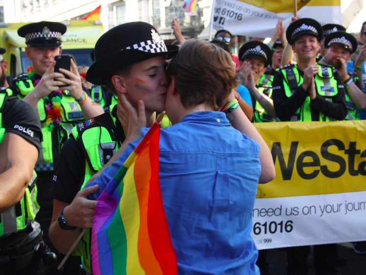 Lesbian Cop Gets Proposed to by Girlfriend at London Pride