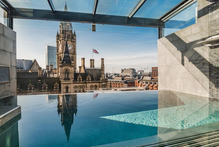 Infinity Pool At King Street Townhouse   Courtesy King Street Townhousetownhouse