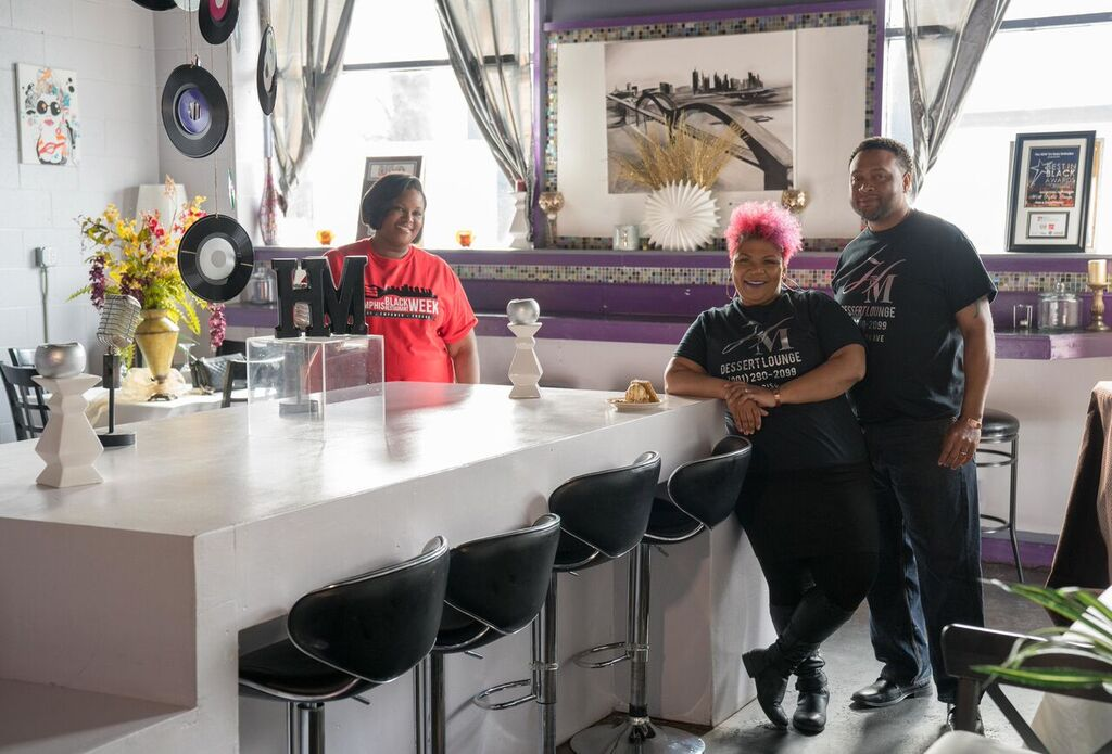 3)       HM Dessert Lounge Owners and Cynthia Daniels (Fran Mosley and Cassius Mosley)
