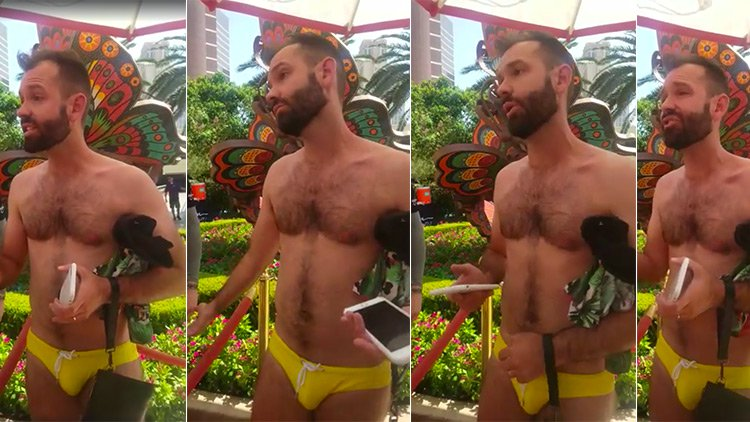 gay man kicked out of vegas pool party
