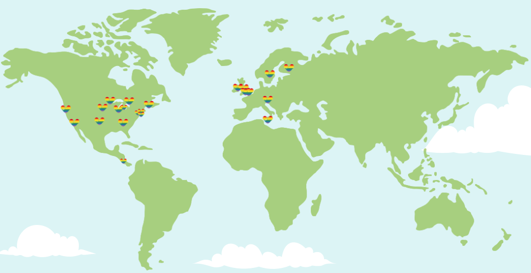 thomas cook airlines pride map
