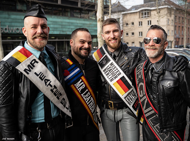 These Guys Went to Leather & Fetish Pride in Belgium and Had a Blast