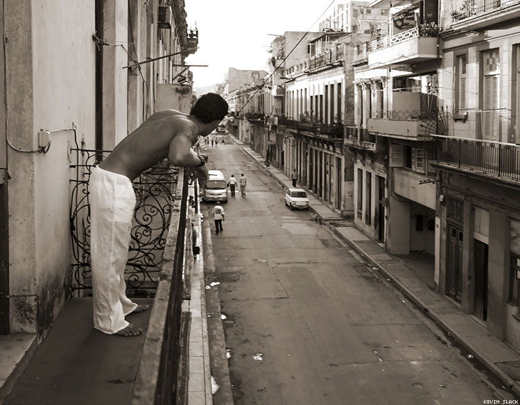 41 Photos Show Cuban Men, Relaxed and Mostly Undressed, by Kevin Slack
