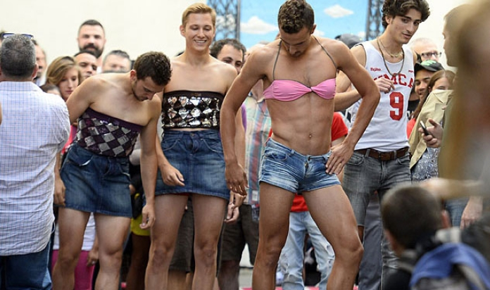 Image result for gay pride insanity