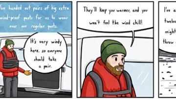 Fund This: Thoughts From Iceland Comic Book Travel Journey