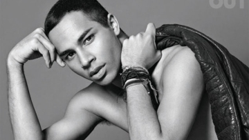 Olivier Rousteing's Next Collection Will Pay Tribute to Paris